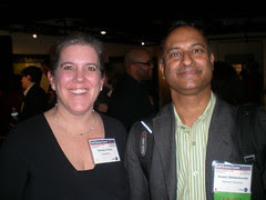 Pam O Hara BatchBlue.com and Shashi Bellamkonda , Network Solutions