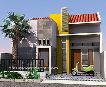 solusipropertidesain interior rumah warna warni hangat