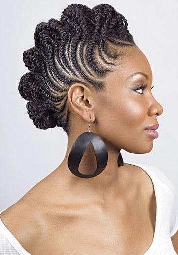 Cornrow Hairstyles Ideas For Women's - The Xerxes