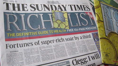 The Sunday Times Rich List 2010