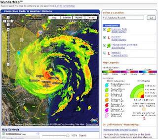 Hurricane Dolly Radar by WunderMap