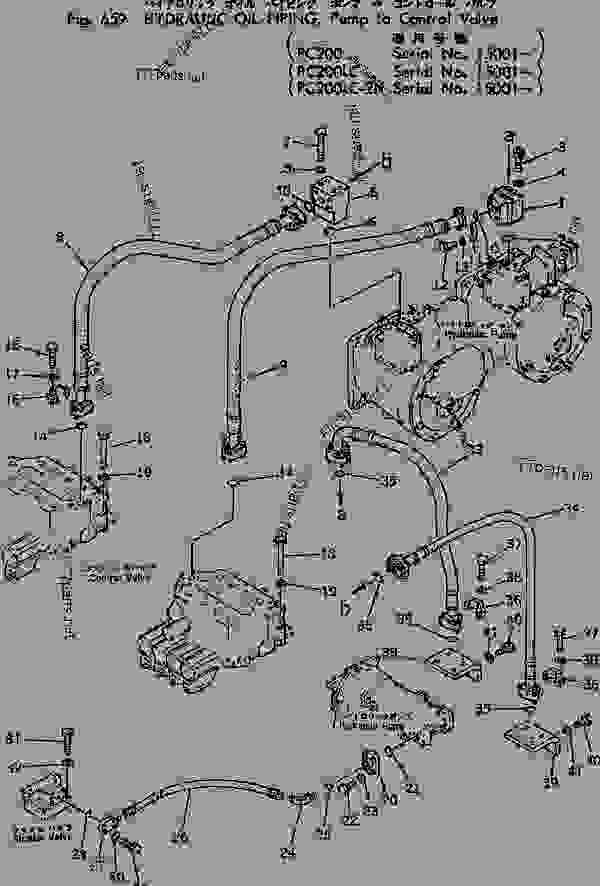 Komatsu Pc200 Hydraulic Diagram