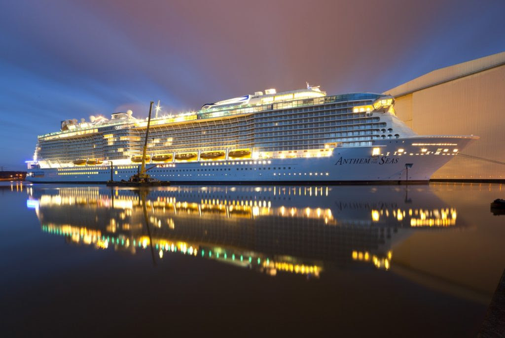 15 Most Expensive Cruise Ships In The World | #6. Anthem of the Seas ($940 million)