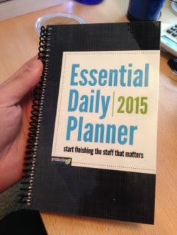 New product: The Essential Daily Planner - Productive Flourishing