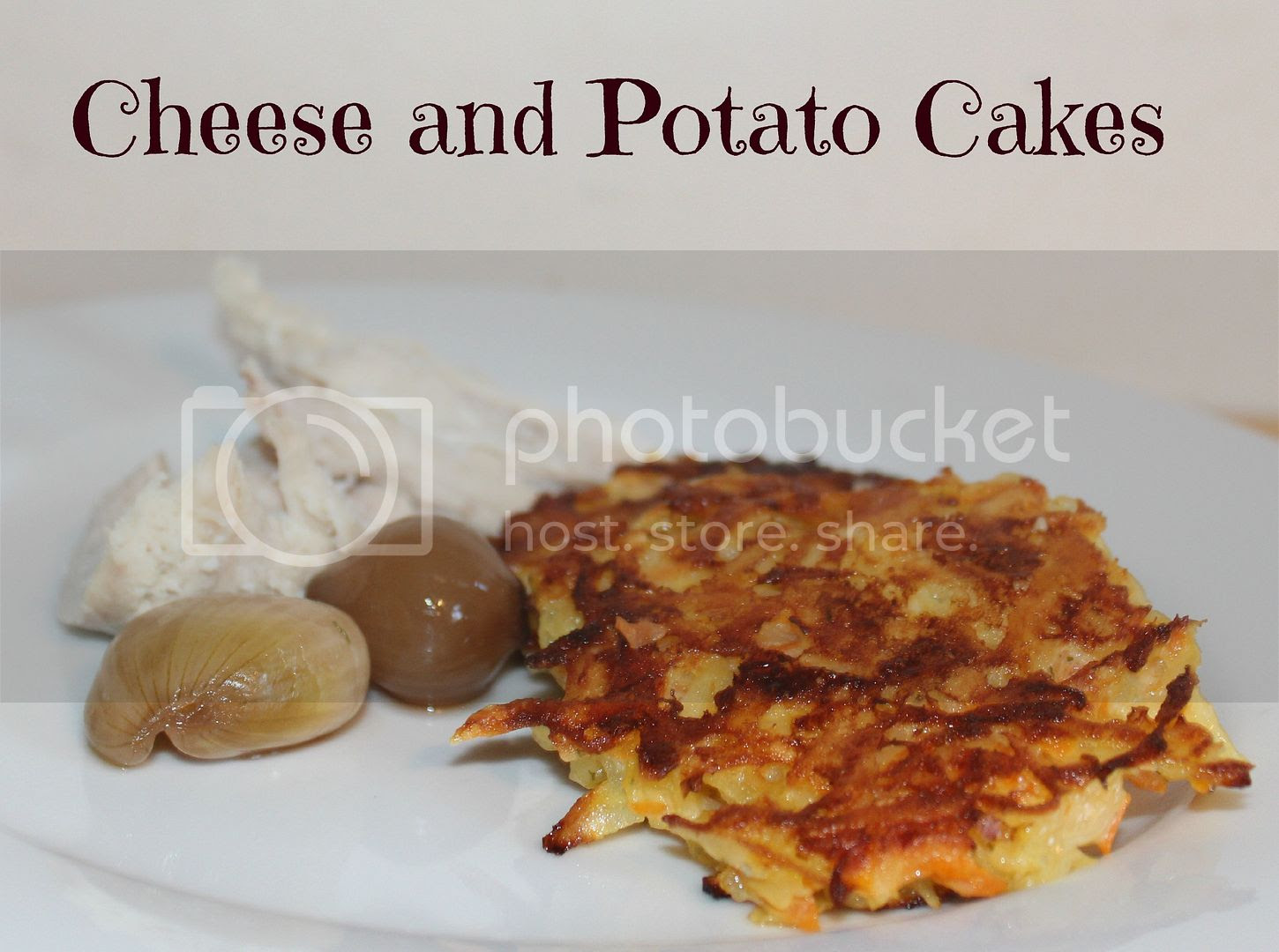 cheese and potato cakes recipe