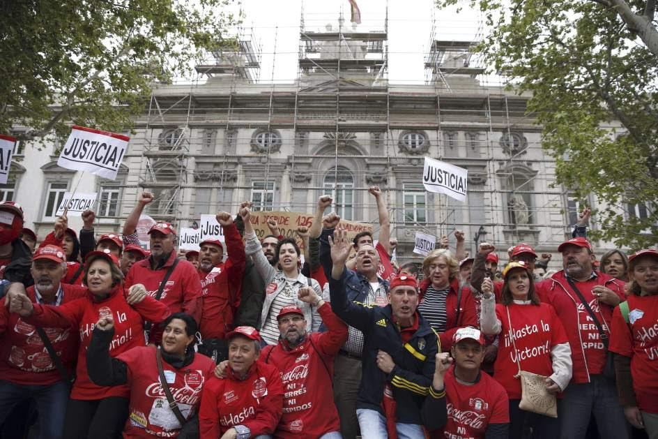 El Supremo anula el ERE de Coca Cola