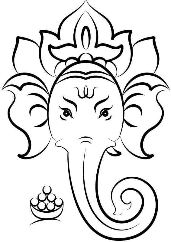 Easy Sketches Ganesh Ji Photo Chelss Chapman