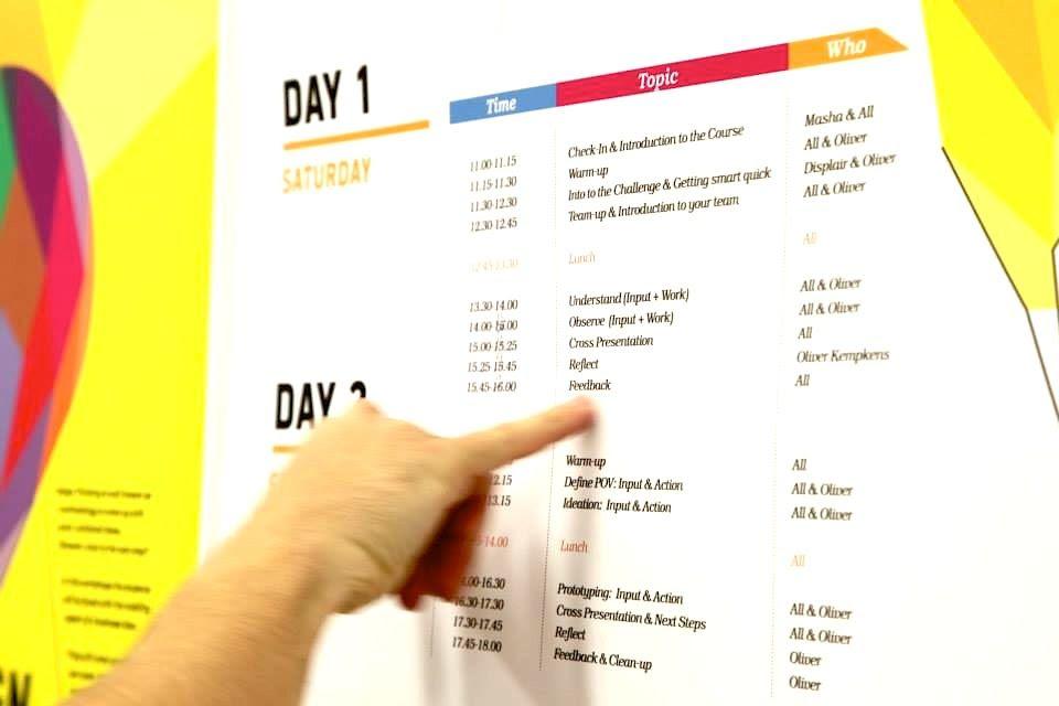 Creative Daily Schedule Design   Daily Agenda Calendar