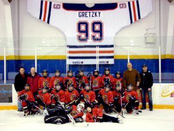 Giant Gretzky jersey