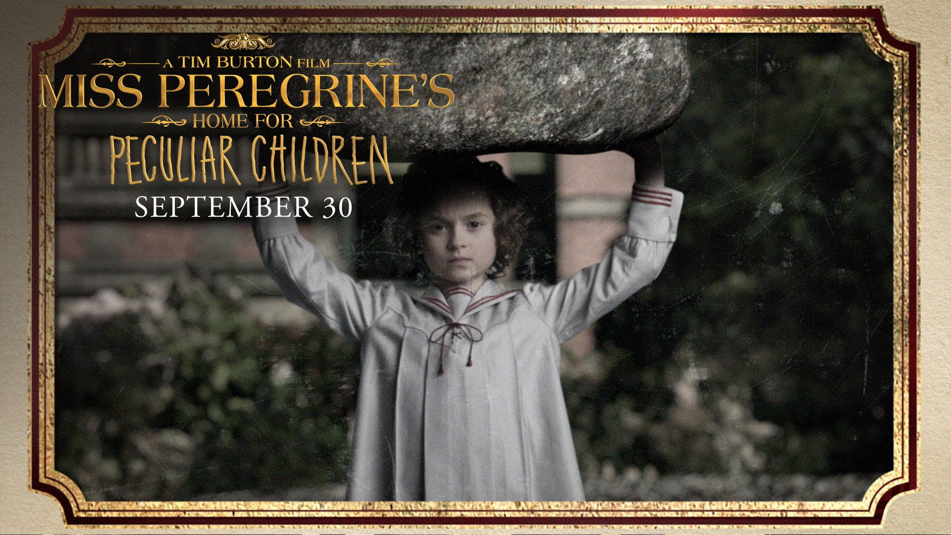 Miss Peregrine S Home For Peculiar Children Meet The Peculiars