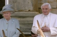 The Pope Meets the Queen