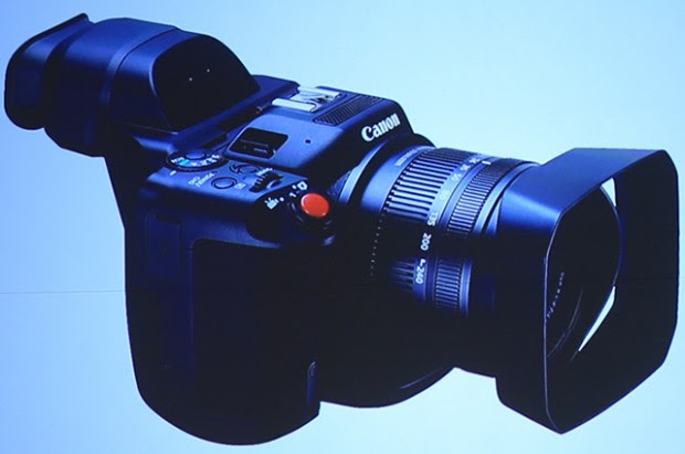 Canon 4K Video Camera w/ Fixed Lens (GH4 Competitor ?) Shows Off in China (Updated)