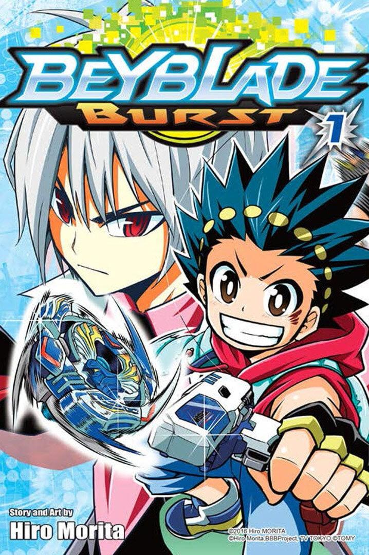 Beyblade Burst Manga | Anime-Planet