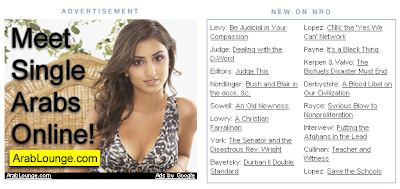 ad from NRO to meet single Arabs