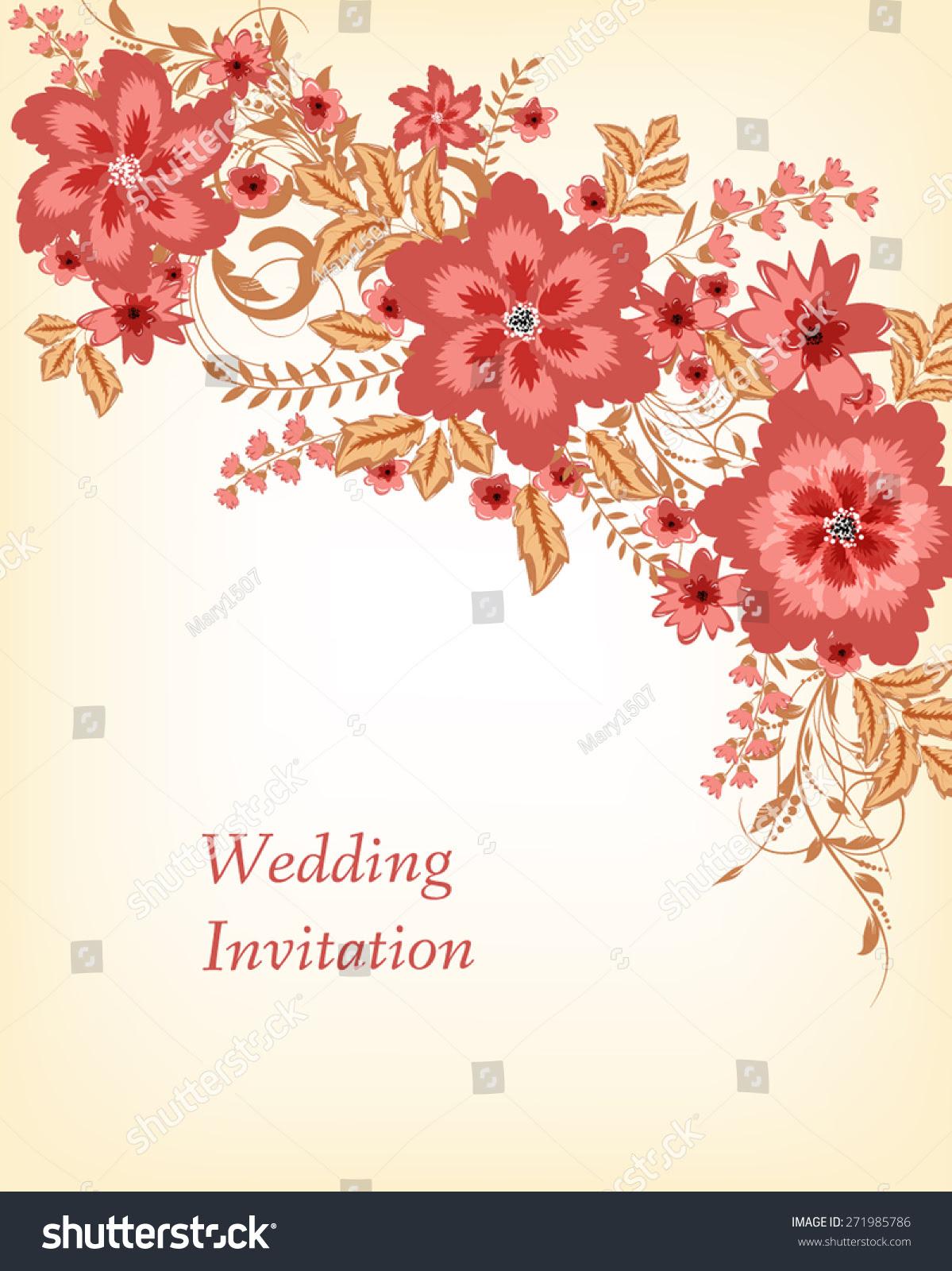 marriage invitation card background  wedding invitation