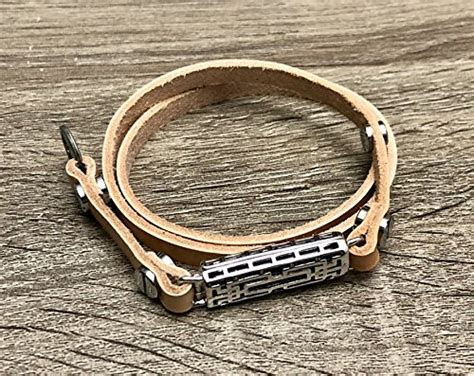 Tan Leather Anklet For Fitbit Flex 2 Fitness Activity