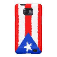 Puerto Rican Flag Samsung Galaxy SII Case