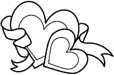 corazones de amor con frases para colorear emprimir imÁgenes de