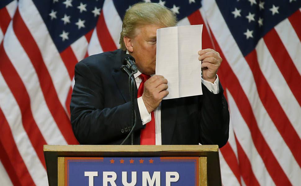 Isto é Donald Trump