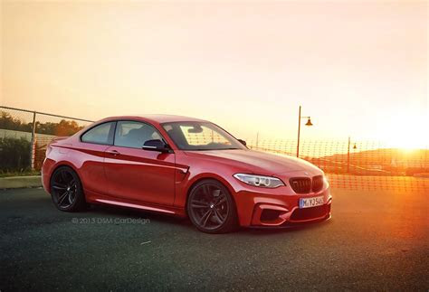 bmw cars news  coupe realistically rendered