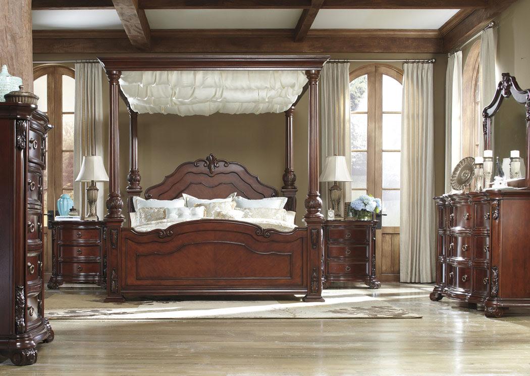 California King Canopy Bed Bangdodo