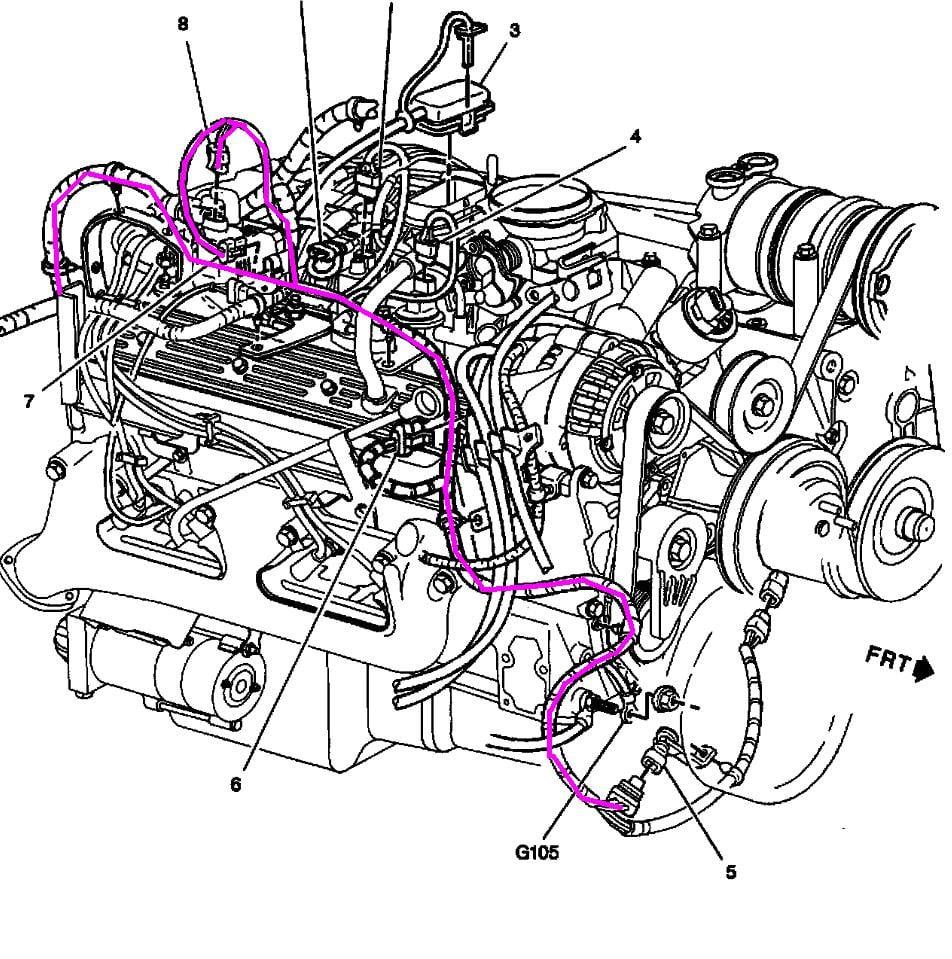 97 Chevy Tahoe 2 dr 350 Vortec - Stock Auto trans 4x4 4-5 ...