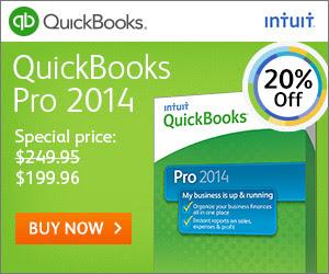 Intuit QuickBooks Pro - Discount Coupon