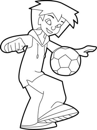 Coloriage Foot 2 Rue 1 Coloriage Foot 2 Rue Coloriages Dessins