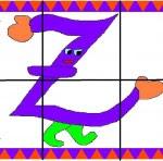 z1 150x148 Crea entretenidos puzzles con las letras del abecedario