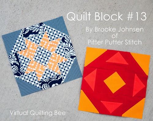 Virtual Quilting Bee Block Tutorial