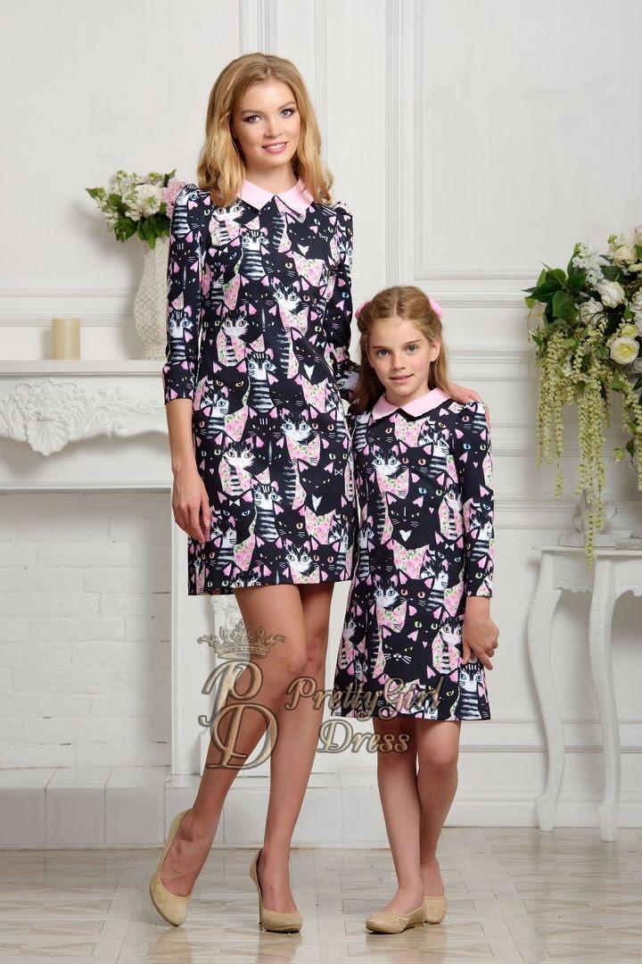 mother daughter matching dress  hortens