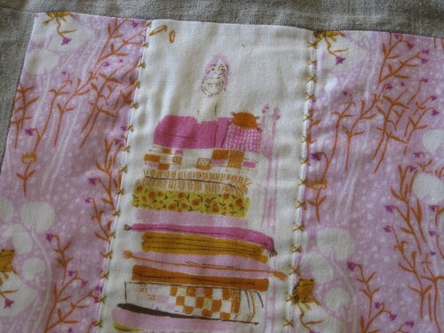 Hand quilting - Princess Strips