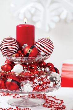 Christmas Center Table Decorations