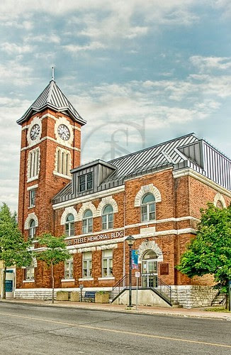 The Orillia Museum of Art and History is housed in the old Sir Samuel Steele Building.