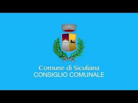 Siculiana, Video Consiglio Comunale del 5 settembre 2019