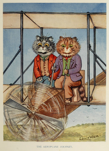 Louis Wain, from Tinker Tailor