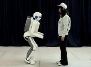 Toyota Humanoid Robot Runs At 7 Km/hr