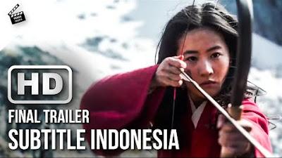 Film Mulan Rilis Pertama Kali di Layar Kaca Indonesia 4 Desember 2020