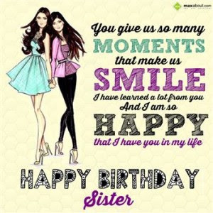Cute Hindi Happy Birthday Sister Sms Messages Wishes Shayari