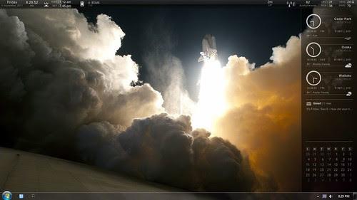 Space Shuttle Desktop by barron