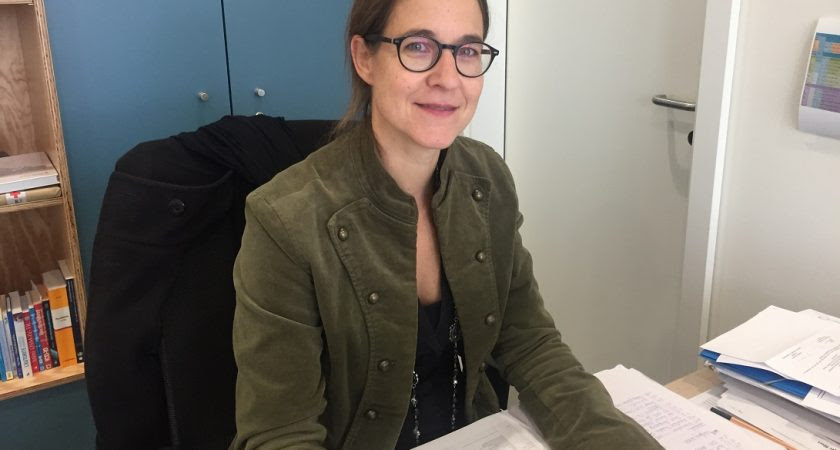 Laura Wissmann travaille au centre thérapeutique Kannerhaus Jean depuis 2014 (Photo : Sarah Melis).