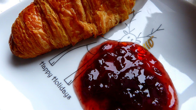 May Your Mornings Be Filled With Buttery Croissants And Strawberry Jam