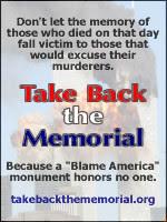 Take Back the Memorial