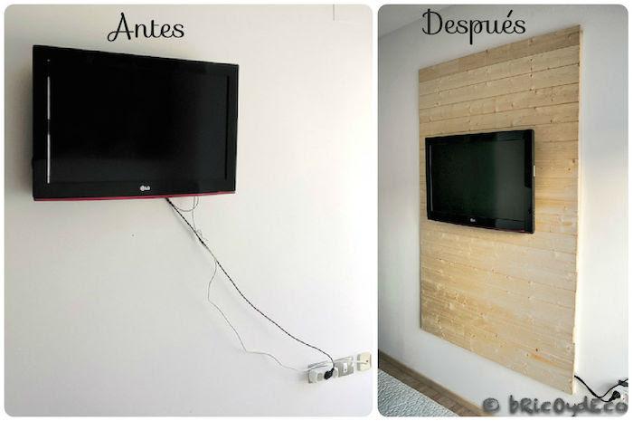 antes-despues-panel-madera-ocultar-cables-tv