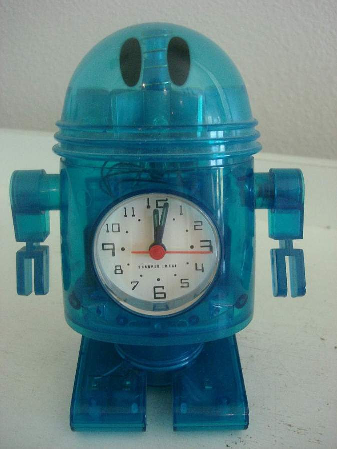 Dancing Robot Alarm By Sharper Image The Old Robots Web Site