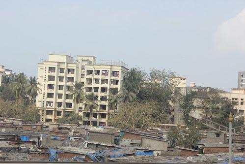 Mumbai Slums From The Highway by firoze shakir photographerno1