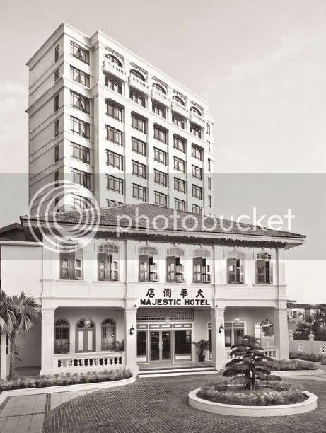 Spa village malacca- the majestic malacca, facade 1