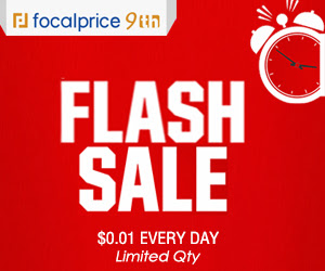 $0.01 Flash Sale Every Day,Limited Qty,freeshipping@focalprice.com