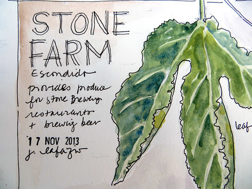 from my sketchbook ~ stone farms
