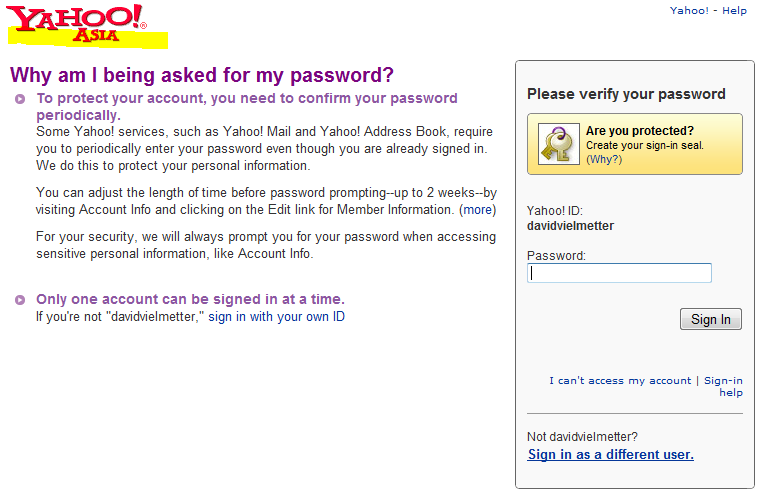 About Tricks » Blog Archive » Login mail account using other